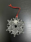 Waterford Crystal Snow Ornament 160054