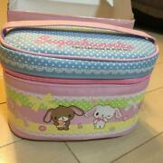 Sanrio Sugarbunnies Sugar Bunnies Lunch Bag With Stainless Container Fork Purse