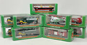 Hess Mini Toy Vehicle Lot Of 11 - Trucks, Firetrucks, Helicopter And Voyager Nib