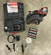 Ridgid 40808 Seesnake Microreel L100c And Micro Ca-350 System W Sonde And Counter