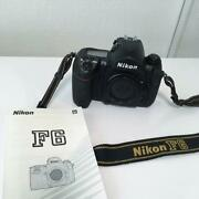 Did It Again. Nikon F6 Body Instruction Manual With Strap