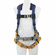 Werner Blue Armor 3-ring Construction Safety Harness - Blue Xl Model H232104
