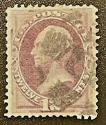 Scott 151 - Henry Clay W/o Grill 12c 1871 1923 Bank Note Used Cv 220 - Lot 2