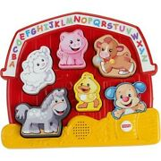 Fisher-price Laugh And Learn Farm Animal Puzzle With 7 Different Songs