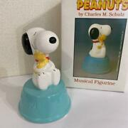 Snoopy Vintage Music Box Willitts