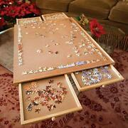 Bits And Pieces –original Standard Wooden Jigsaw Puzzle Plateau-the Complete Puz