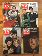 1967 Vintage Tv Guide Lot Of 42- No Mailing Labels Monkees Lucy Bonanza Exc Cond
