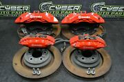 2019 Dodge Charger Hellcat 6.2 Brembo Brake Calipers Rotors Front Rear 10k Miles