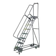Ballymore Rolling Ladder Overall Height 140 In Steps 11 Cap 450 Lb