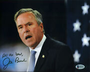 Jeb Bush All The Best Authentic Signed 8x10 Photo Autographed Bas S72775