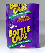 Rare Vintage 1997 Willy Wonka Bottlecaps Candy Sealed Single Pack Container