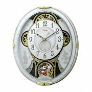 Mickey And Friends Radio-controlled Wall Clock With 28 Melodies Disney Store Japan
