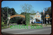 Original Slide Fountain Of Youth In St. Augustine Fl 1958