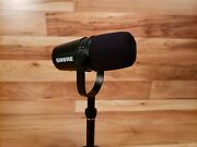Shure Mv7-k Microphone For Podcasting Streaming And Gaming Black Free Shipping