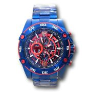 Marvel Spiderman Men's 52mm Limited Edition Blue Chronograph Watch 26771