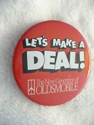 Vh- Let's Make A Deal The New Generation Of Oldsmobile Pin Clip Pin Badge
