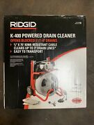Ridgid K-400 Powered Drain Cleaner Opens Blocked 1 1|2 Inches - 4 Inches 52363