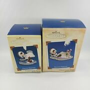 Hallmark Keepsake Ornament Frosty Friends 2004 25 And 2005 Collector's Edition