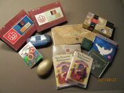 12 Canadian Coin And Stamp Sets Commemorative Collection Canada Colored Keepsake