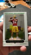 2005 Topps Chrome Aaron Rodgers Green Bay Packers 190 Football Card
