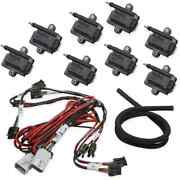 Holley 556-128 Big Wire Coil-near-plug Smart Coil Kit V8 Applications Includes