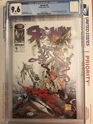 Spawn 9 Cgc 9.6 First Medieval Spawn And Angela