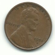 Vf/xf 1952 D/d Lincoln Cent Coin-old Us Coin- Agt353