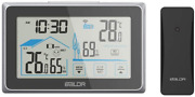 Baldr Wireless Indoor/outdoor Thermometer And Hygrometer - Touch Screen Digital And