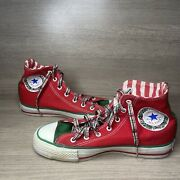Limited Edition Converse All Star Chuck Taylor Christmas Wreath Edition Size 5.5