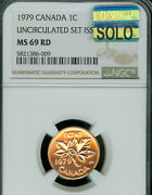 1979 Canada Cent Ngc Ms69 Rd Pq Mac Solo Finest Graded Mac Spotless