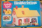 Vintage Weebles Cottage 1973 Hasbro Romper Room With Box And Accessories
