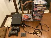 Sony Playstation 2 Fat Console Bundle Games Controllers Memory Cards