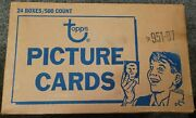 1987 Topps Baseball Unsearched Unsealed Vending Case 951-87