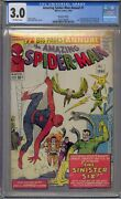 Amazing Spider-man Annual 1 Cgc 3.0 1st Sinister Six Canadian Edition