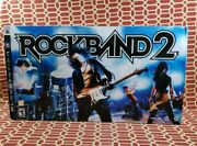 New Ps3 Rock Band 2 Special Edition Bundle Kit Drum Set Only- No Sticks.