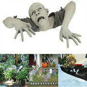 Halloween Decorations Scary Zombie Garden Statue Horror Swamp Creeping Ghost Us