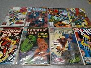 9 Attic Find Comic Books X-men, Fantastic Four, The Human Fly, Wolverine