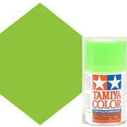 New Tamiya Polycarbonate Ps-28 Fluorescent Grn Spray Paint 86028 Free Us Ship