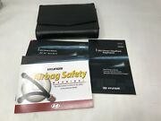 2011 Hyundai Tuscon Owners Manual With Case Oem Om0543