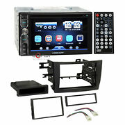 Concept Dvd Mp3 Bluetooth Stereo Dash Kit Harness For 09-13 Toyota Corolla