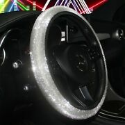 37cm-38cm Steering Wheel Cover Car Pu Leather Universal Brand New Durable