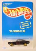 Hot Wheels Seattle Toy Show Black '67 Camaro Z-28 Limited Edition 1/8000