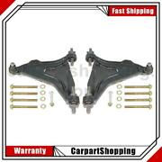 2 Delphi Suspension Control Arm And Ball Joint Assembly Front For Volvo 850 C70