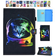 For Samsung Galaxy Tab A 10.1 8.0 Leather Shockproof Smart Card Slots Case Cover