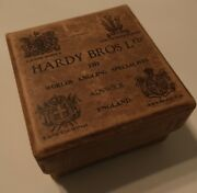Hardy Vintage Box For Fly Fishing Reel Perfect