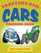 Tractors And Cars Coloring Book Kids Coloring Books, Brand New, Free Shippin...