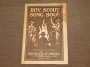 Vintage Bsa Boy Scouts Of America 1920 Boy Scout Song Book