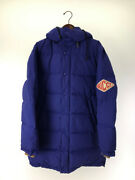 Game Puffer Coat Down Jacket 44 Size Blue
