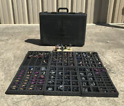 Huge Lot-must See Epic Warhammer 40k Case Of Pro-painted And Assembled Miniatures
