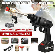 Wireless High Pressure Car Washer Tool Washer Water Spray Cleaner 12v/24v